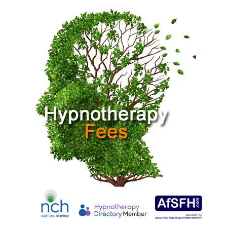 fees for hypnotherapy